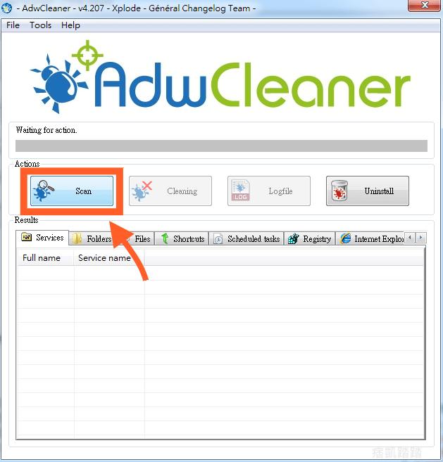 AdwCleaner 掃毒1