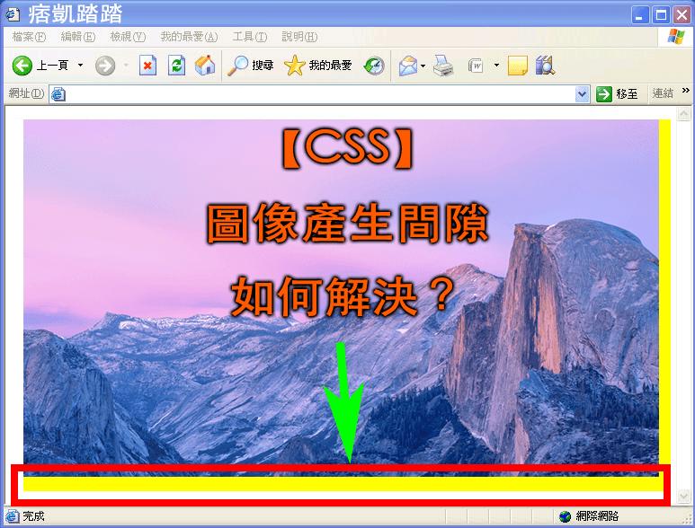 【CSS】圖像產生間隙,空一行,如何解決?完美解決跨瀏覽器兼容教學-min
