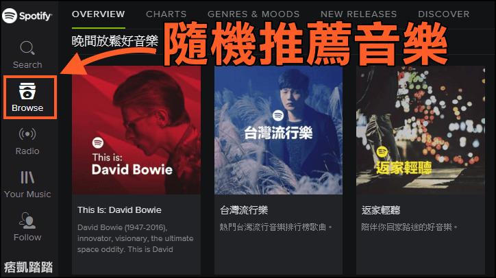 Spotify免費聽音樂2