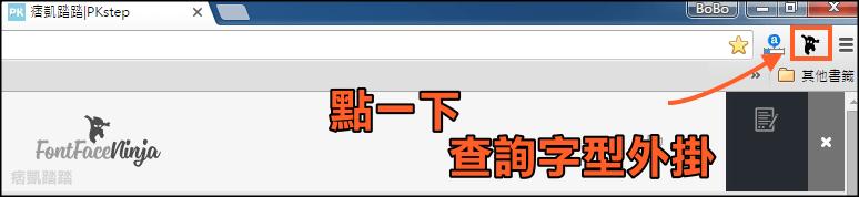 看網頁使用的字型外掛4