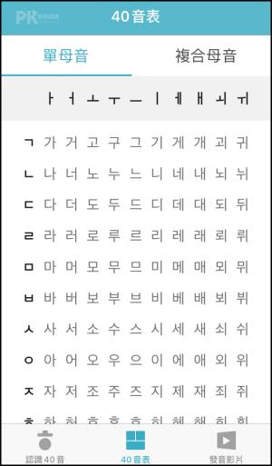 韓文40音練習2