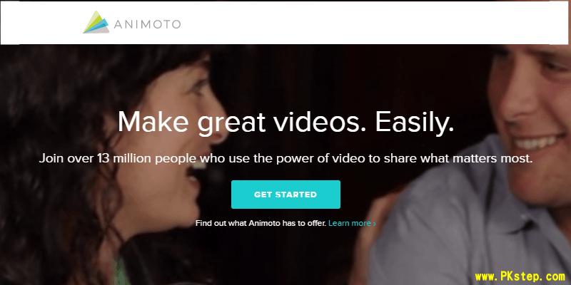 animoto video editor