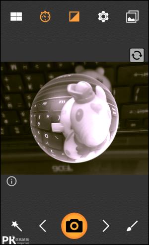 魚眼相機App5