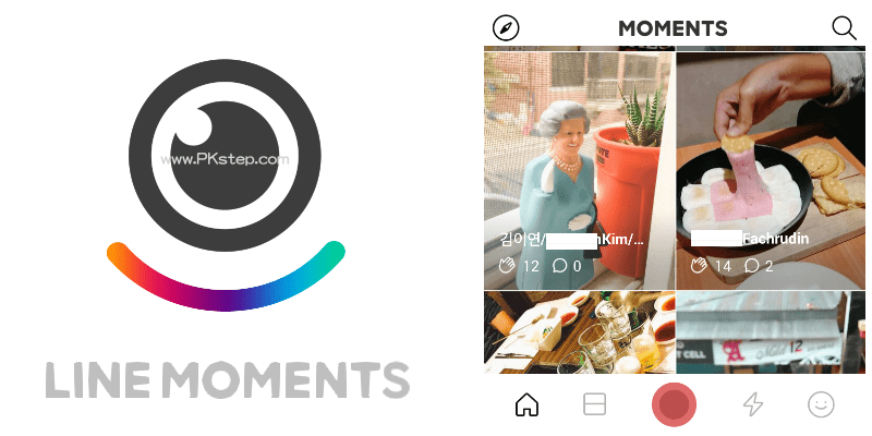 LINE MOMENTS用影片記錄生活的每一刻!還能追蹤、探索全世界~(Android、iOS)