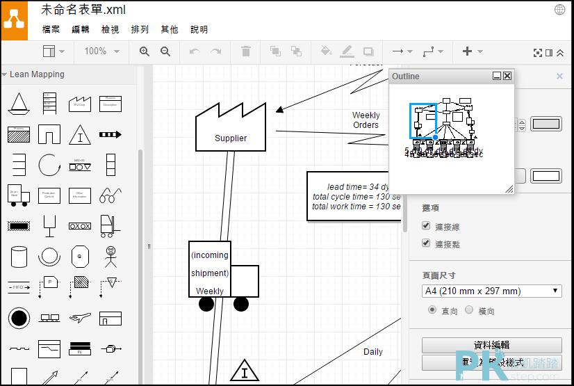 線上流程圖繪製軟體1