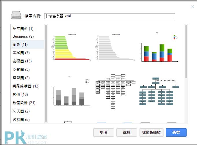 線上流程圖繪製軟體2