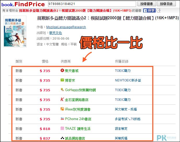 買書比價網2