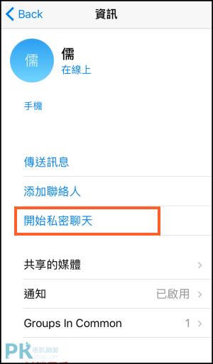 Telegram私密聊天2