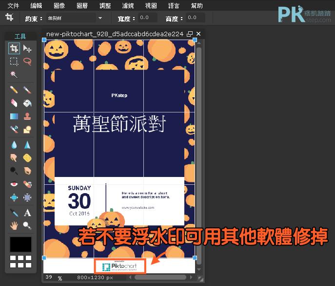 piktochart圖表模板設計7