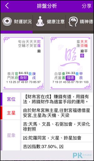紫微斗數算命App5