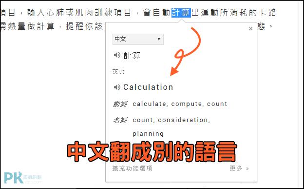 Google翻譯外掛6