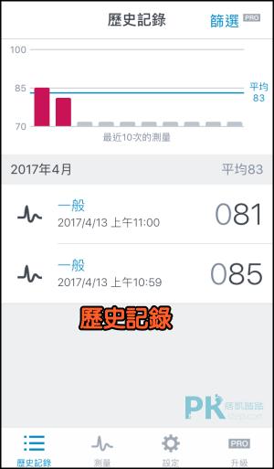 心跳測量器App3