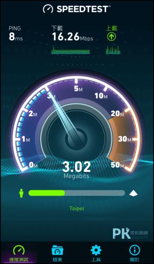 SPEEDTEST網路速度測試2
