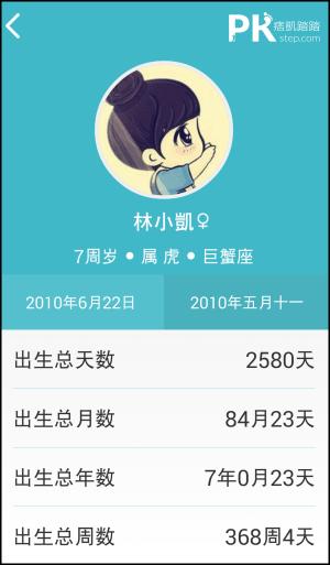 生日提醒App_Android2
