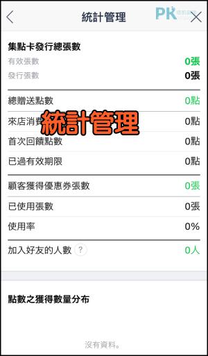 LINE@集點卡掃描統計教學1