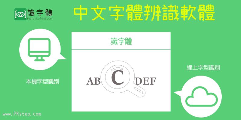 線上《中文字體辨識工具》上傳圖片自動掃描偵測所使用的字型是什麼!(網頁版、軟體下載)