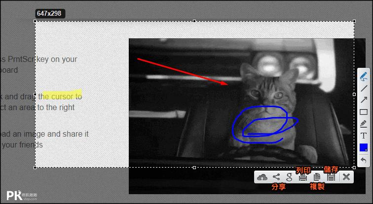 Lightshot電腦截圖軟體3