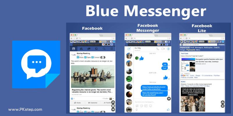 Blue Messenger-Chrome擴充外掛,無須開啟網頁版Facebook,也能滑臉書動態、接收通知、聊天和PO文。
