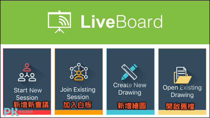 LiveBoard-線上多人協作白板App4