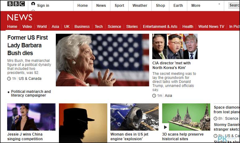 BBC英文閱讀練習網站