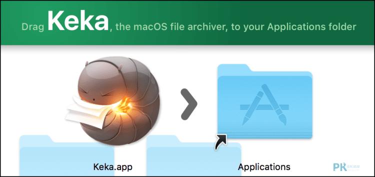 keka檔案壓縮解壓縮軟體Mac1