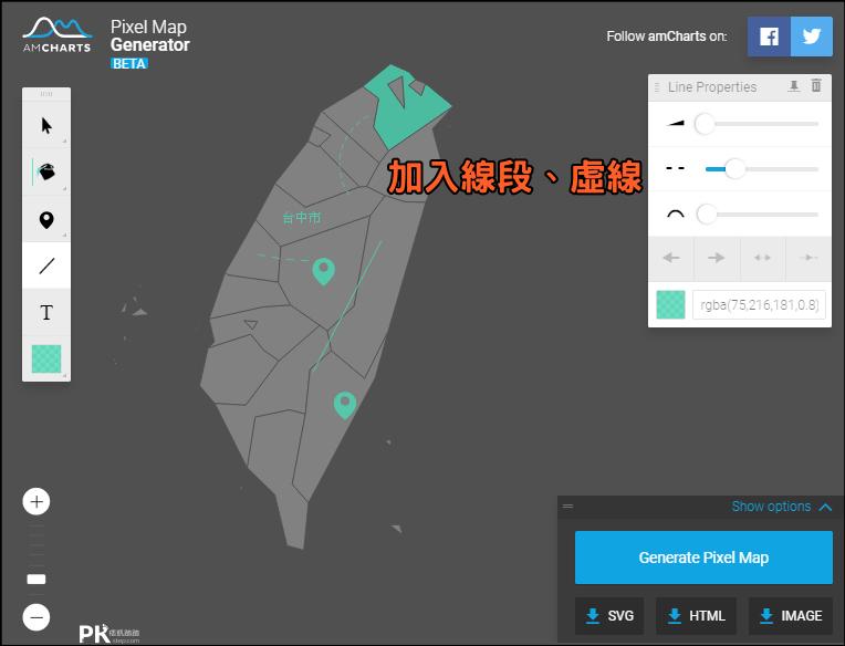 線上地圖產生器5
