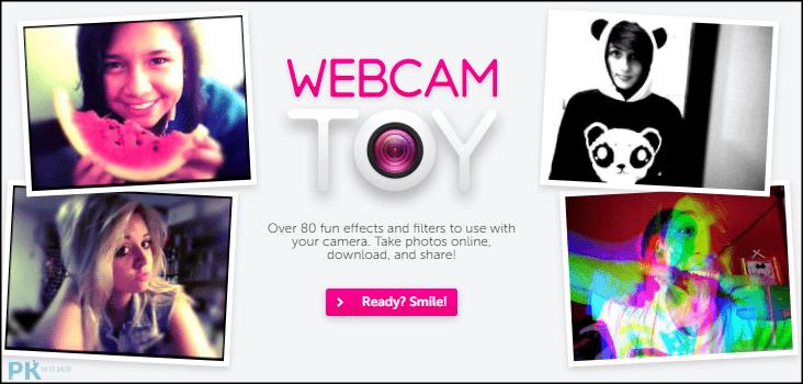 Webcam-Toy線上拍照軟體1