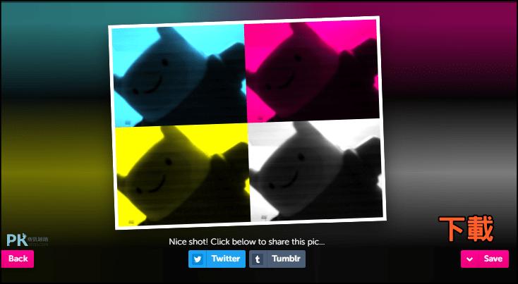 Webcam-Toy線上拍照軟體3