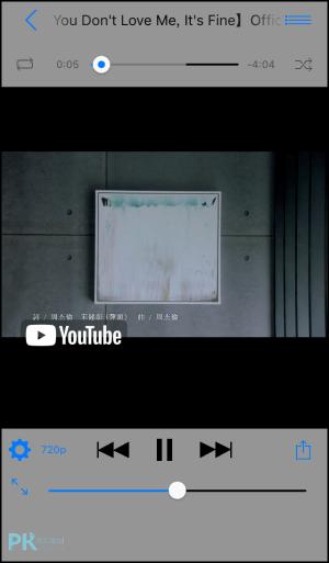YouTube關畫面繼續聽App4