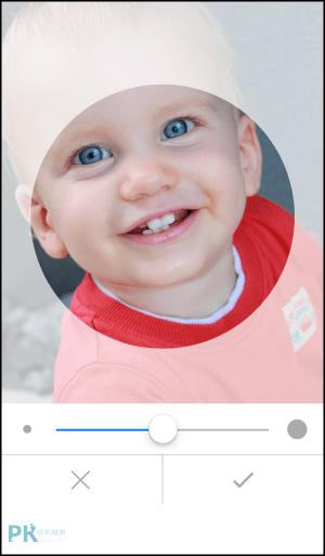 圓形大頭貼剪裁App2