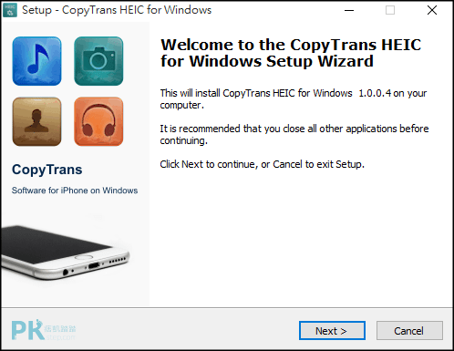 CopyTrans-HEIC-for-Windows電腦開啟heic照片2