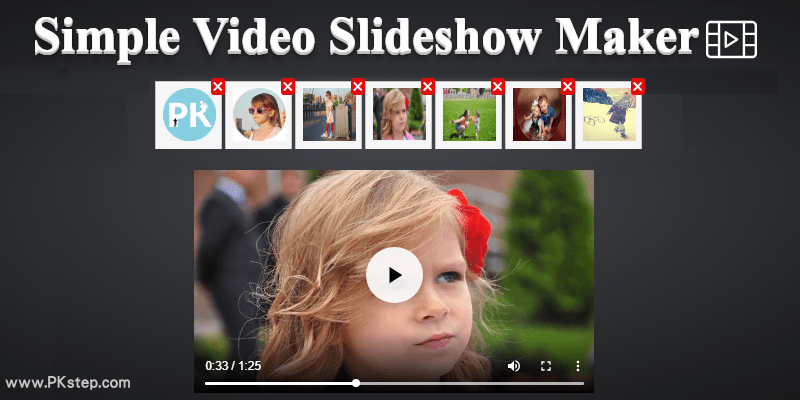 Simple-Video-Slideshow-Maker