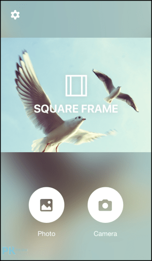Square-Frame背景模糊App1