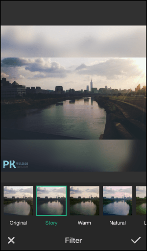 Square-Frame背景模糊App4
