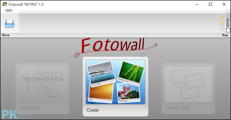 Fotowall照片拼貼軟體1