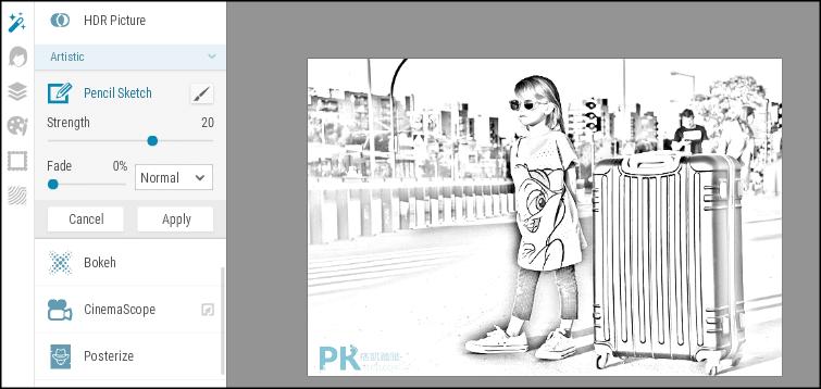 ipiccy照片轉卡通素描風4