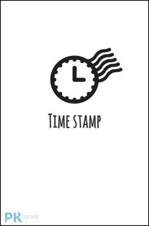 照片時間戳App1