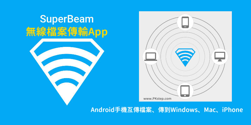 SuperBeam-App-tech