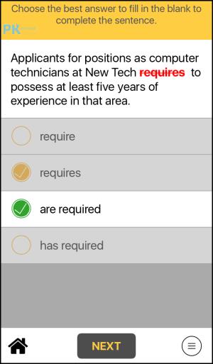 TOEIC新制多益閱讀模擬考練習4App