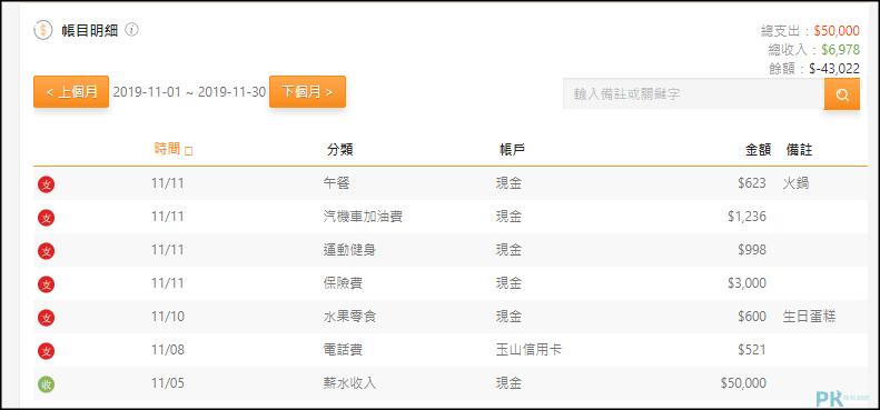 CWmoney記帳App_網頁2