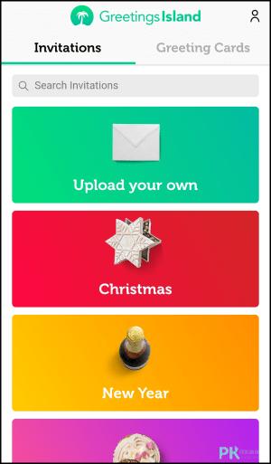 電子賀卡製作App1