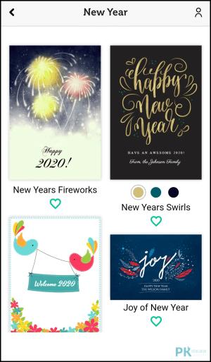 電子賀卡製作App2