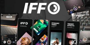 IFF影片濾鏡相機App,加入復古+霓虹燈+分鏡效果+仿直播等…影片特效。(iOS)