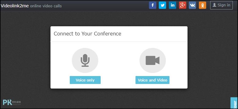 Videolink2me線上多人視訊工具3