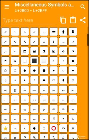 Unicode特殊符號鍵盤App_Android3