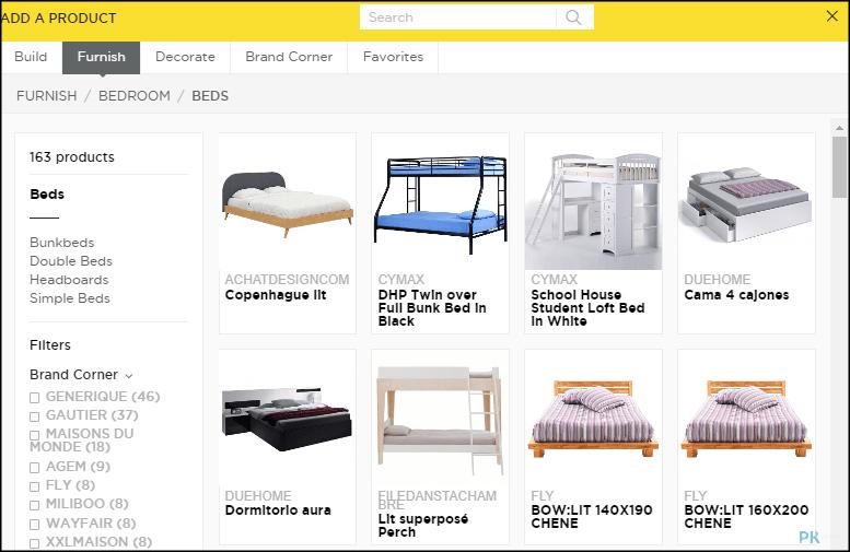HomeByMe免費線上室內設計軟體3