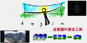 Hugin全景照片拼接軟體,連接多張圖片,製作360度環景相片!免費下載/教學。(Windows、Mac)
