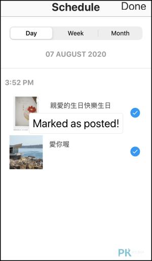 Preview免費ig預約發文App8