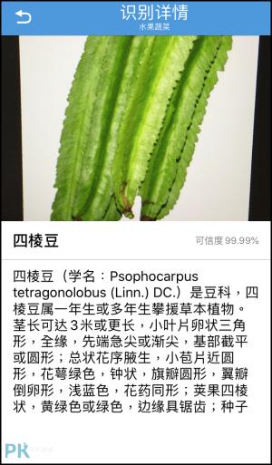 辨識全能王App-認識蔬菜4