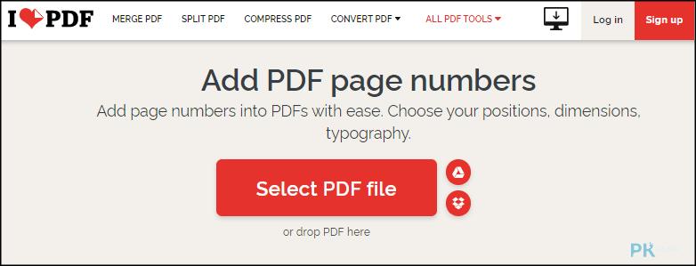 pdf線上加頁碼1